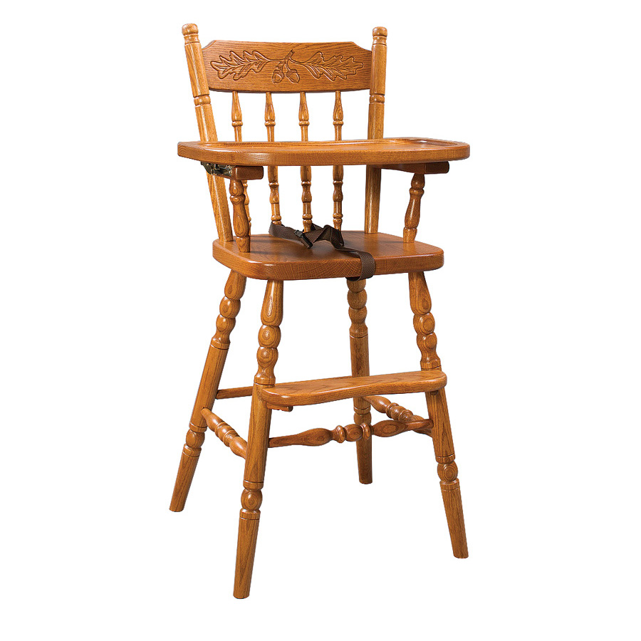 Amish wooden high chairs - Highchairs