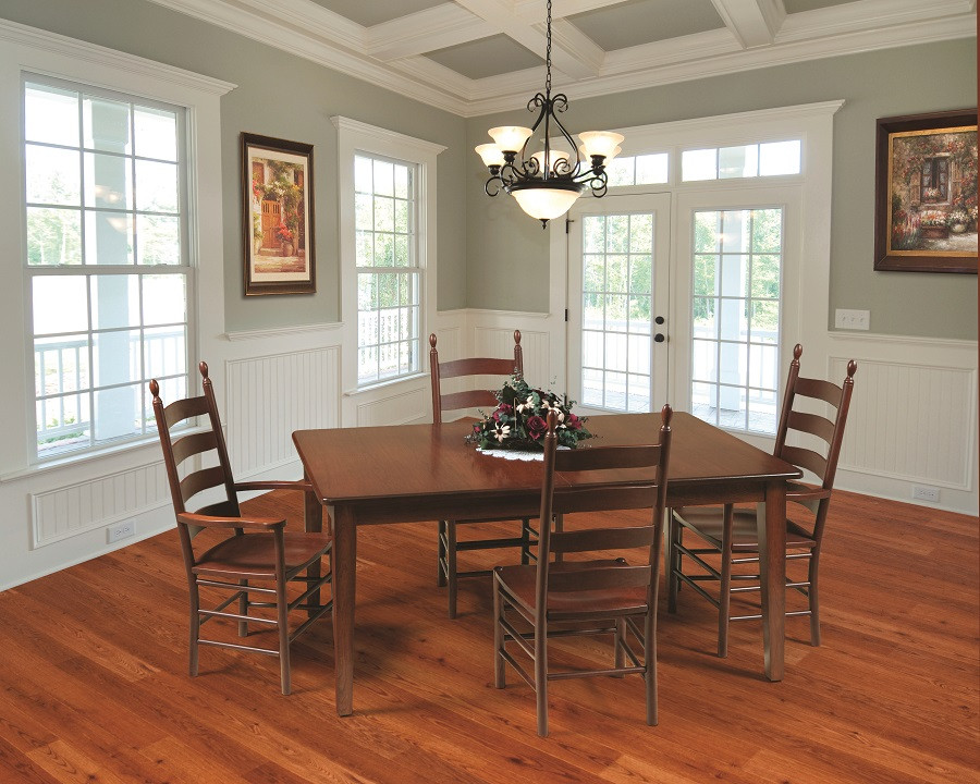 Shaker Amish Dining Table In Lancaster County Pa Self