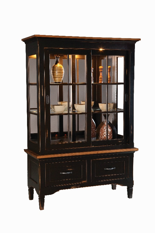 lexington china cabinet amish made furniture lancaster county pa. Black Bedroom Furniture Sets. Home Design Ideas