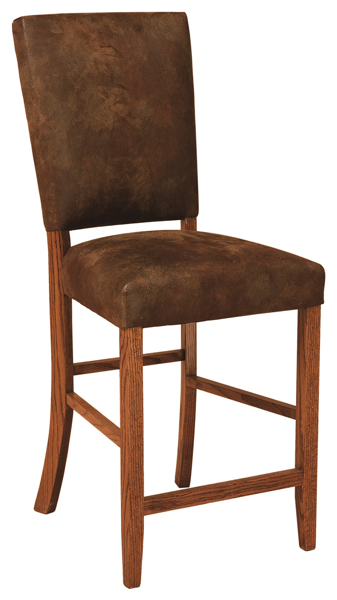 Warner Upholstered Amish Bar Chair In Lancaster County Pa