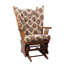 Amish Highback Glider Rocker