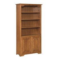 "Amish Eden 72""h Bookcase with Doors"