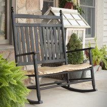 Shown in Black w/ Natural Seat