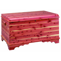 Summerfield Jumbo Waterfall Cedar Chest