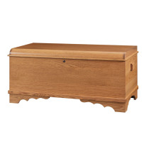 Harmony Large Waterfall Chest - Oak