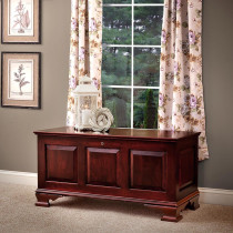Mayflower Medium Classic Panel Chest - Cherry