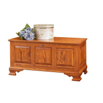 Mayflower Medium Classic Panel Chest - Oak