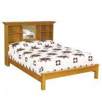 Amish Lancaster Bookcase Bed