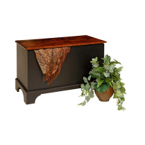 Savannah Deep Storage Chest w/ Shaker Foot - Maple