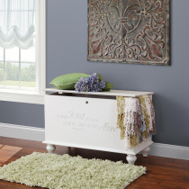 Savannah Deep Storage Chest w/ Tulip Foot - Cherry