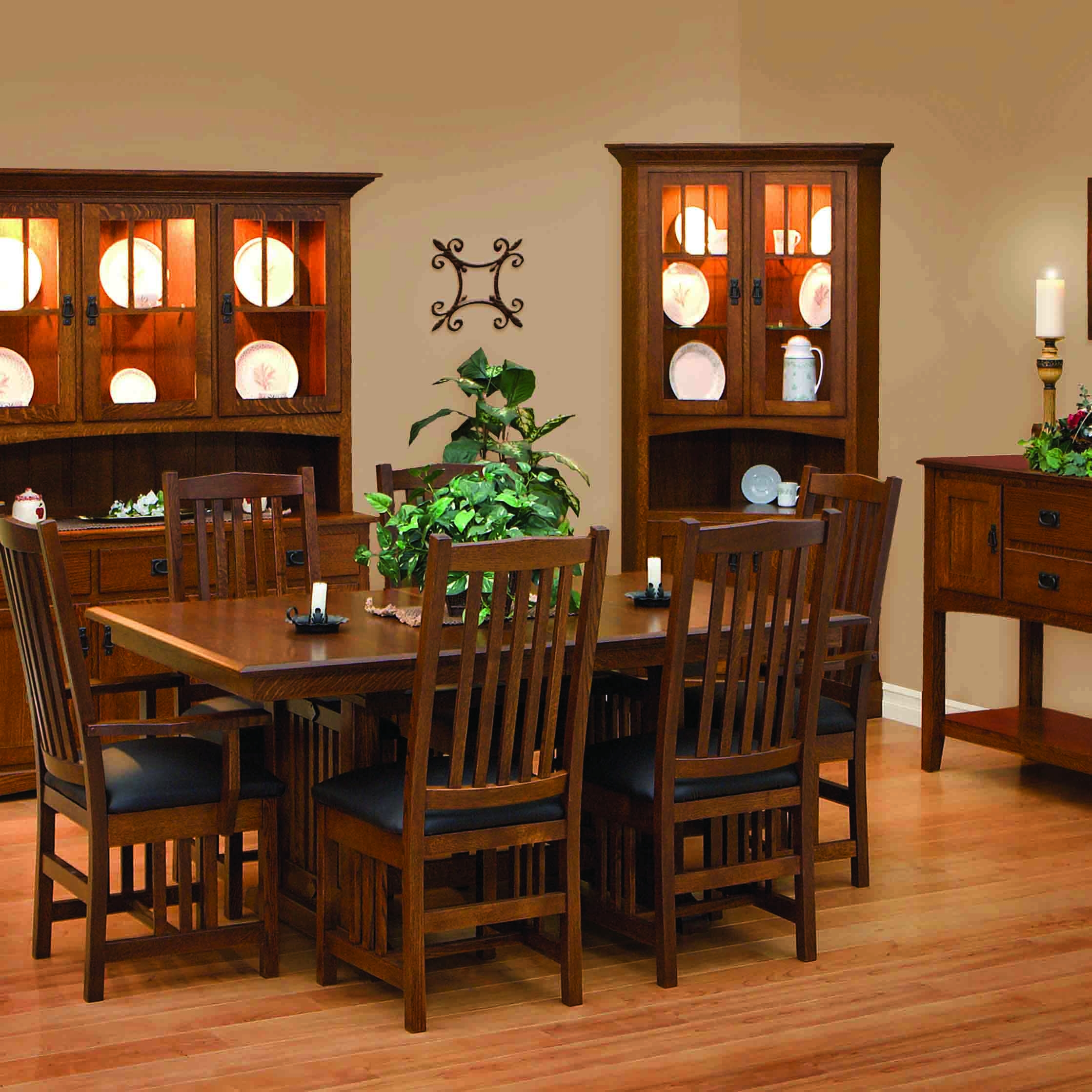 Amish Dining Room Furniture   Mission Style