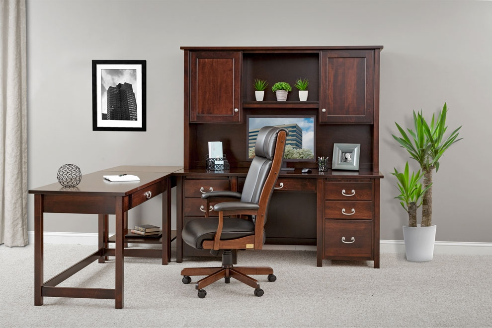 Amish Office Furniture Home Office Amish Furniture Lancaster Pa