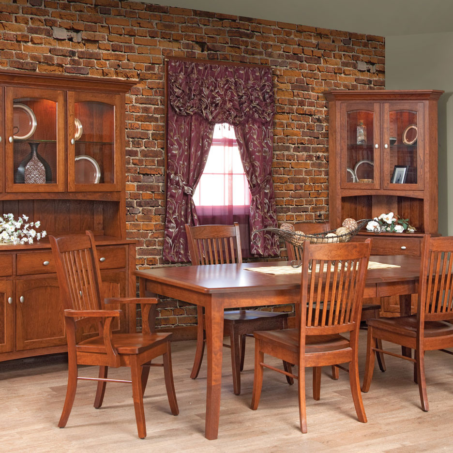 Concord Amish Dining Table in Lancaster County PA | Self ...