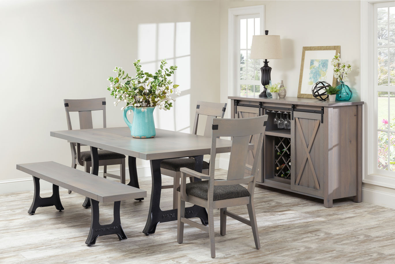 Lahoma Amish Dining Table In Lancaster County Pa Self