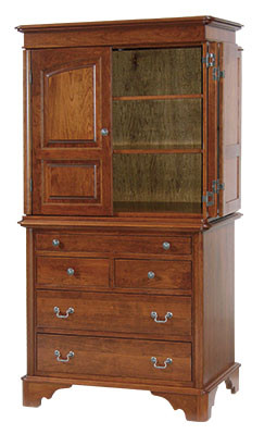 Cambridge Iron Armoire