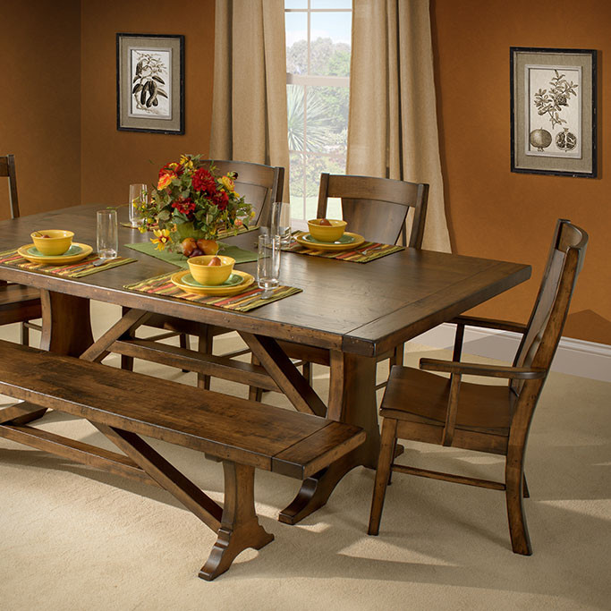 Westin Amish Dining Table In Lancaster County Pa Self