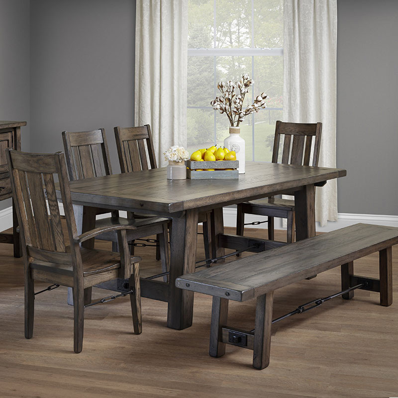 Ouray Amish Dining Table In Lancaster County Pa Self