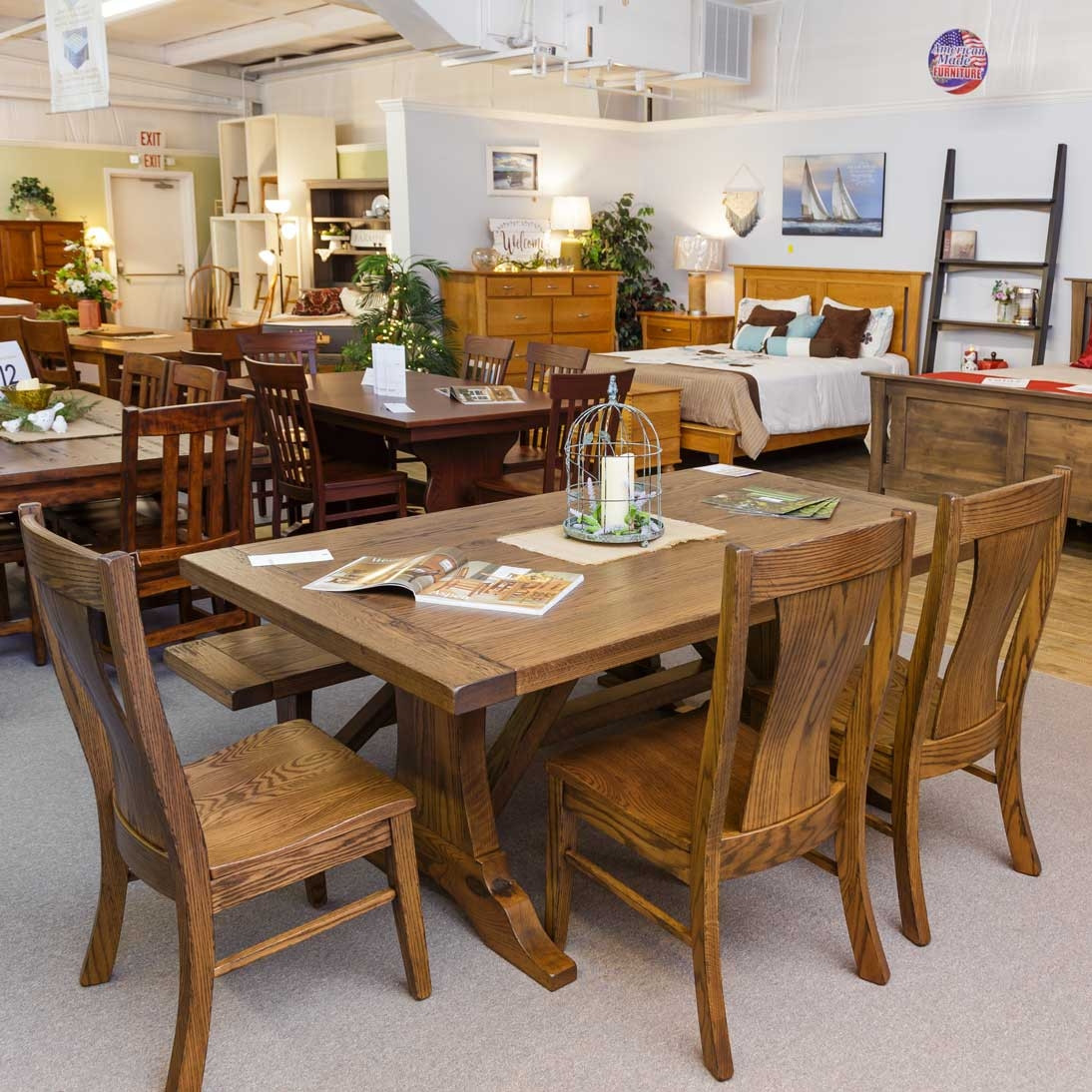 Westin Amish Dining Table in Lancaster County PA | Self ...