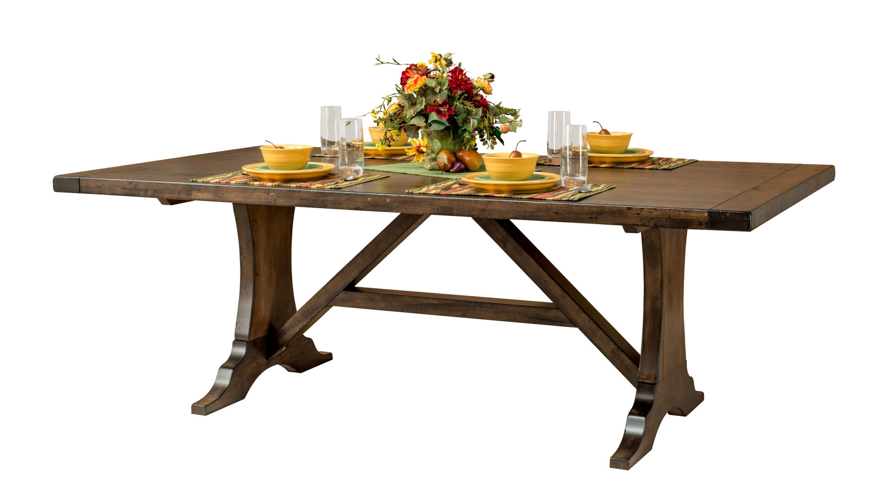 amish crafted kitchen table