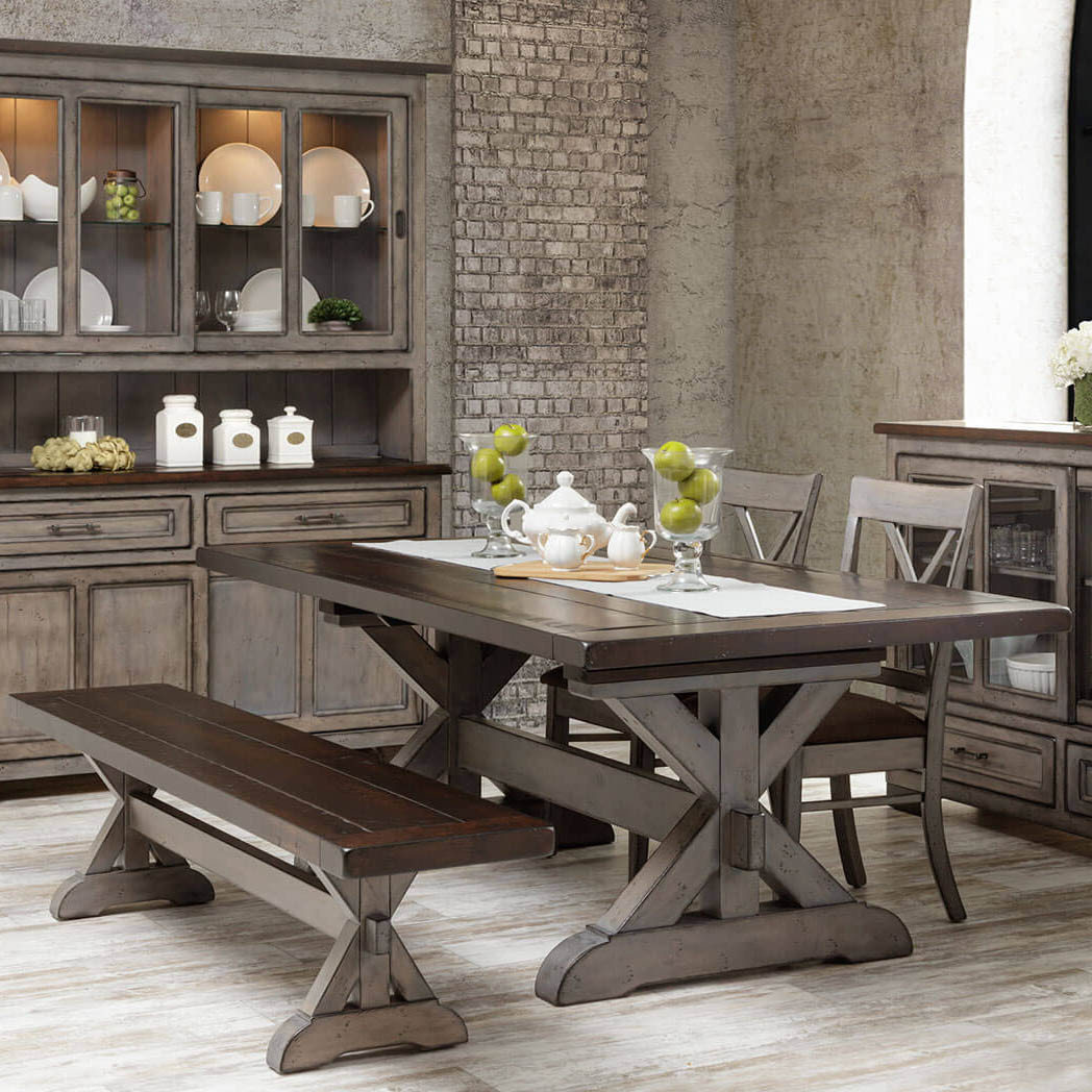Hudson Amish Dining Table In Lancaster County Pa Self