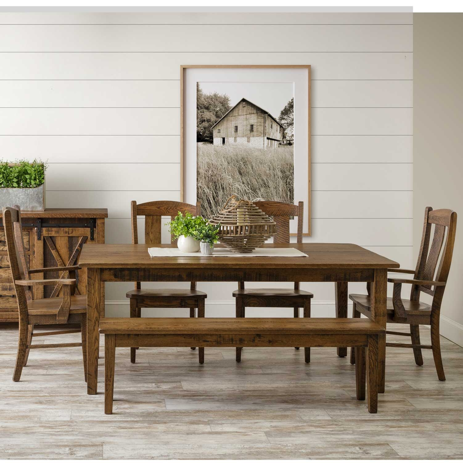Shaker Amish Dining Table in Lancaster County PA | Self ...