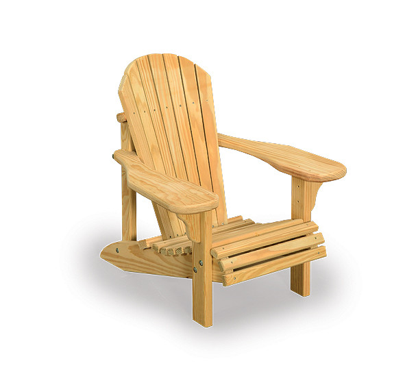 Amish Wooden Child S Adirondack Chair Wood Outdoor