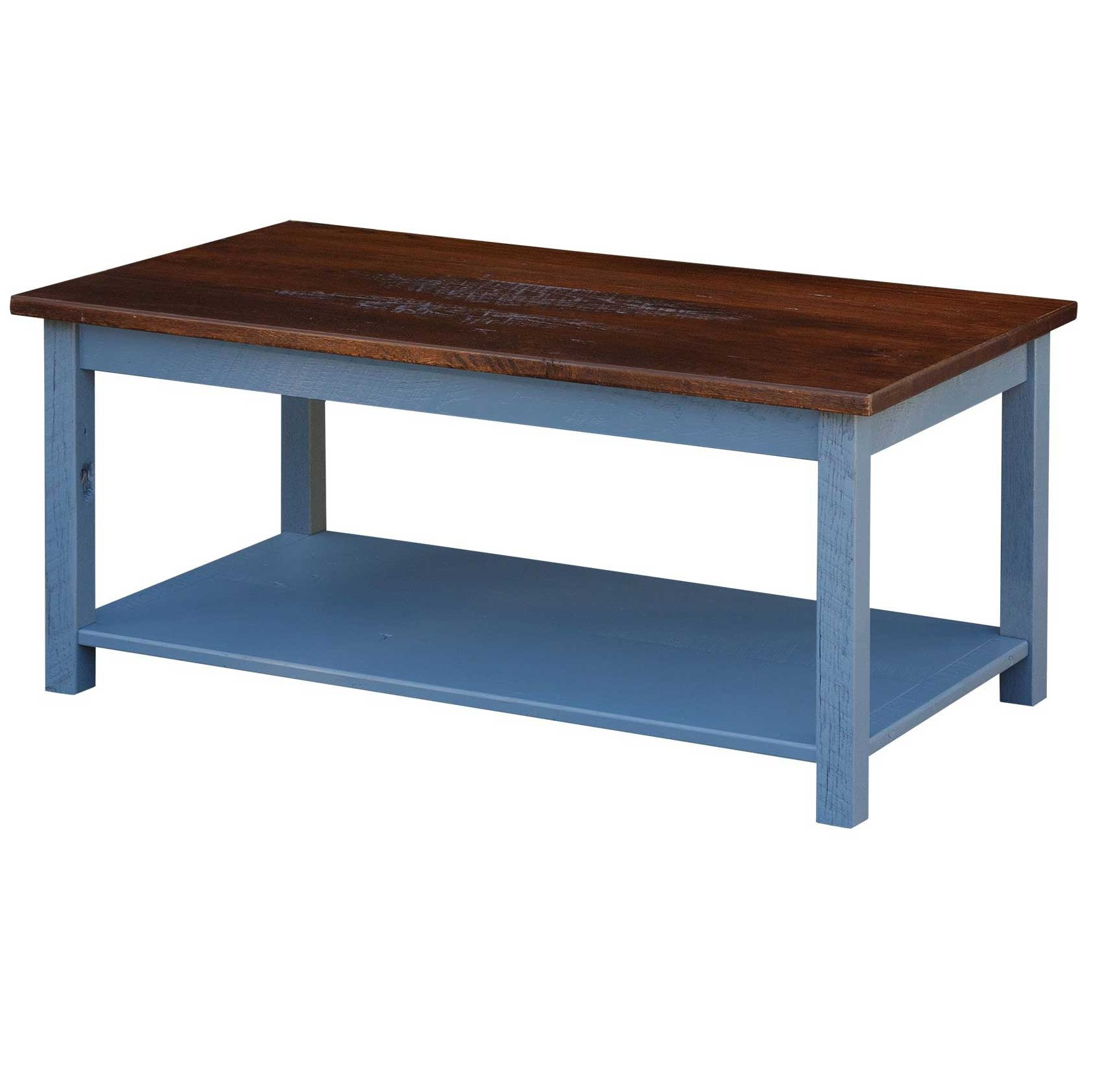 Artesia Barnwood Coffee Table Amish Handcrafted Lancaster County Snyder S Furniture