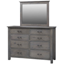 Amish Heirloom Mission High Dresser