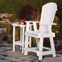 Amish Poly Balcony Chair