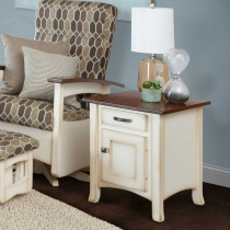 Breezy Point Enclosed End Table