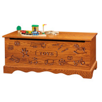 Toy Chest - Oak