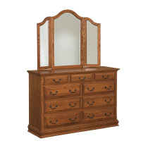 Eden Royal Mule Chest and Mirror