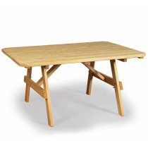 Wood Plain Table