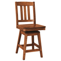 Ancient Mission Swivel Bar Stool