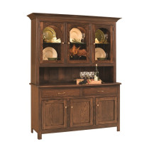 Georgetown 3-Door Hutch