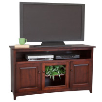 "56"" x 32"" TV Stand Entertainment w/6"" opening"