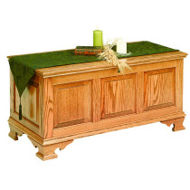 Mayflower Large Classic Panel Chest - Oak