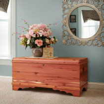 Summerfield Large Waterfall Cedar Chest