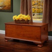 Yorktown Large Reproduction Chest - Cherry