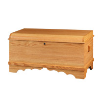 Harmony Small Waterfall Chest - Oak