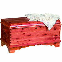 summerfield small waterfall cedar chest
