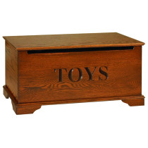 Small Toy Chest - Oak